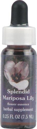 - Flower Essence Range of Light Splendid Mariposa Lily Supplement Dropper -- 0.25 fl oz