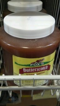Fox's Butterscotch Sundae Topping 64 Oz (6 Pack) by Fox's