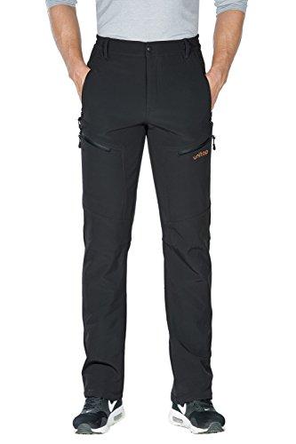 Unitop Men's Skiing Pants Snow Ski Pants Deep Gray-1 36/34