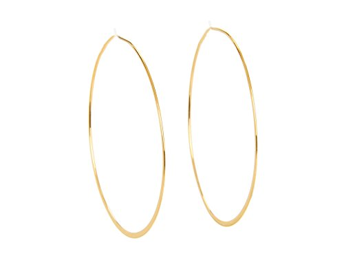 Michael Kors Women's Heritage Whisper Hoop Earrings Gold from Michael Kors
