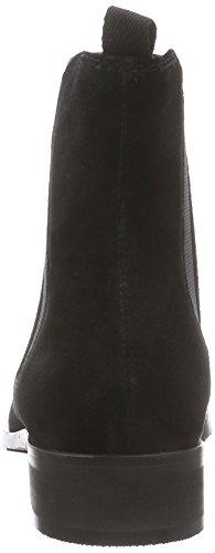 Giudecca JY1546-1 - Botines Chelsea de Cuero Mujer negro - negro