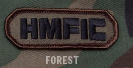 HMFIC Patch w/ velcro backing