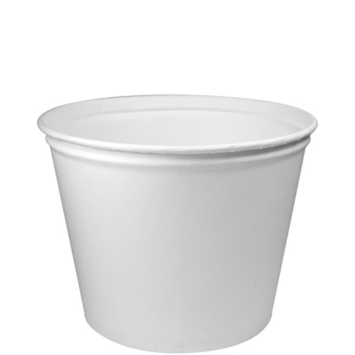 Solo 5T1GR-02050 83 oz White Paper Bucket (Case of 100)