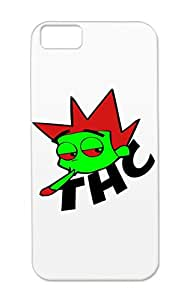 Red Scratch-free For Iphone 5c Funny Thc Bad Boy Provocative TPU Cover Case