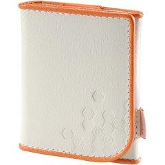Ipod Nano 3g Leather - Belkin Orange/White Leather Folio Case For iPod nano 3G