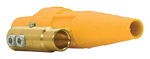 CROUSE-HINDS E1016-8388 Power Entry Connector, Cam-Lok J E1016 Series, Plug, 600 V, 400 A, Cable Mount, Screw