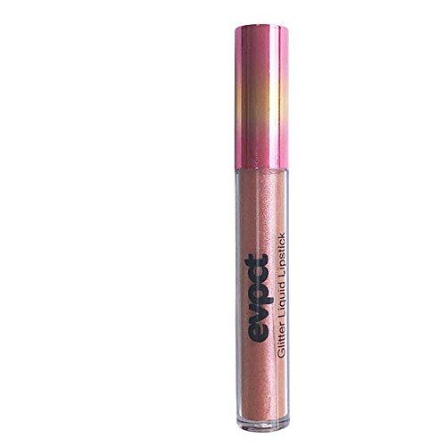 (Evpct Diamond Illusion Metallic Lip Gloss,Matte To Glitter Liquid Lipstick Waterproof Lip Gloss Makeup Lip Glosscolor, 4ml (10 colors)(05))