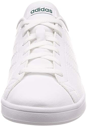 White Advantage 0 Footwear Damen adidas Green Weiß Clean Sneaker QT White Footwear Noble zR7Tnqf5WT