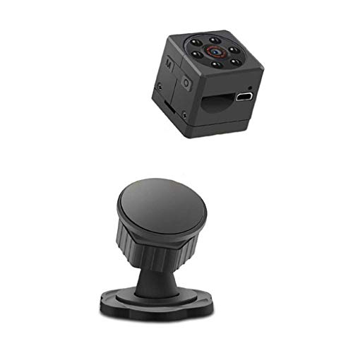 (Yogered WiFi Spy Camera, WiFi Waterproof Recorder, 1080P HD Mini Hidden Camera Wireless Nanny Cam Security Mini Car Home Sports Bike Camera (Black,)
