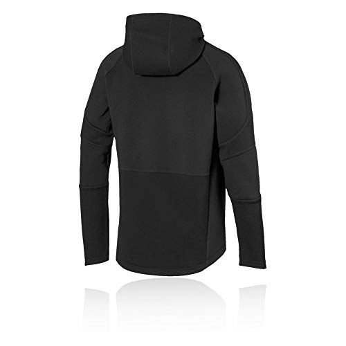 Homme Hooded Sweat Evostripe Black Puma Move Capuche À Jacket WT1ZfZq