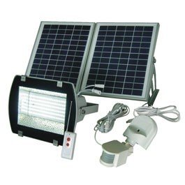 High Powered LED Solar Flood Light by Solar Goes Green