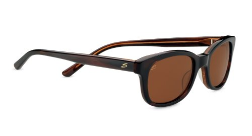 Serengeti Cosmopolitan Serena Sunglasses, Polarized Drivers, Dark Tortoise - Women Sunglasses For Serengeti