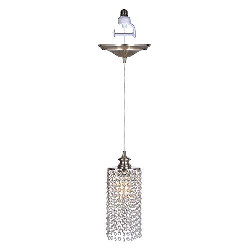 Worth Home Products PBN-3936-0030 Instant Pendant Light for Shades Single Light 6