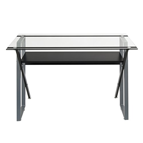 Studio Designs 50707 Calico Designs Colorado Desk, Black/Silver by Studio Designs