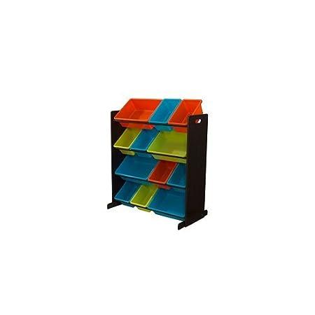 KidKraft Sort It & Store It Bin Unit - Bright KIDKRAFT (DropShip) 15452