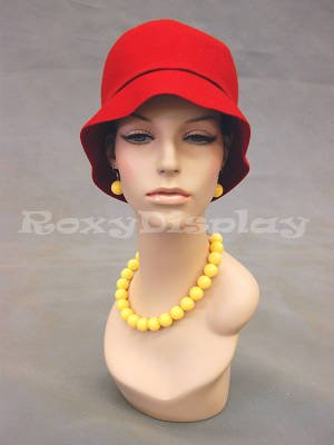 (Roxy Display (MD-EvenlyHD) Realistic Female Mannequin Head)