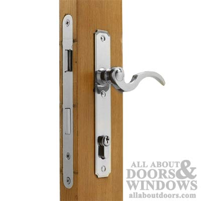 Mortise 2 Lever Lock (Atrium Mortise Lock Set Chrome Finish)