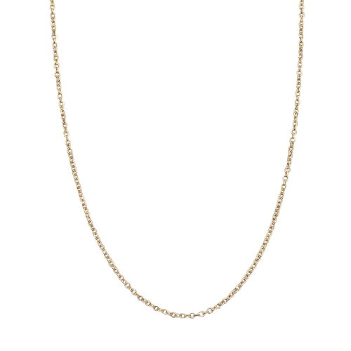 14k Gold Cable Pendant Chain ()