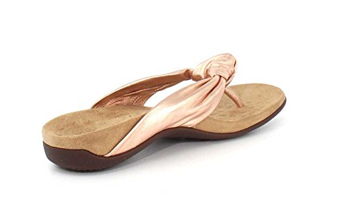 Vionic Womens Rest Pippa Leather Sandals Rose Gold SBdCpb7