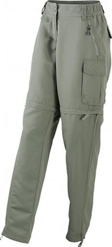 Ladies' Premamá Verde Pantalones Mujer amp; Zip Nicholson James off OzEqn7wpx6