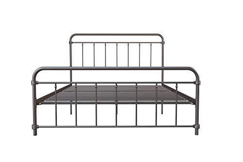 Amazon.com: DHP Winston Metal Bed Frame, Multifunctional Piece with ...