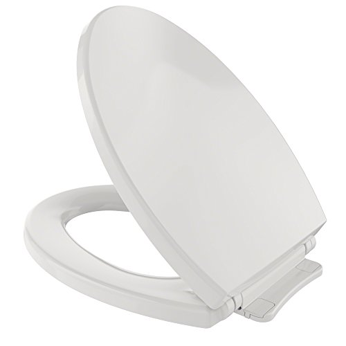 TOTO SS114#11 Transitional SoftClose Elongated Toilet Seat, Colonial White