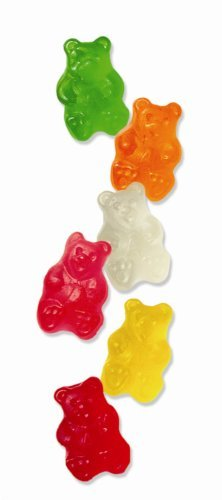 (Albanese Assorted Wild Fruit Bears, Six Flavors, 5-Pound Bags (Pack of 4) by Albanese Confectionery)