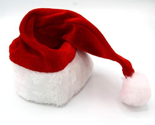 Dollar Store Gorro de Papa Noel para Adulto Accesorio para Fiesta de Navidad