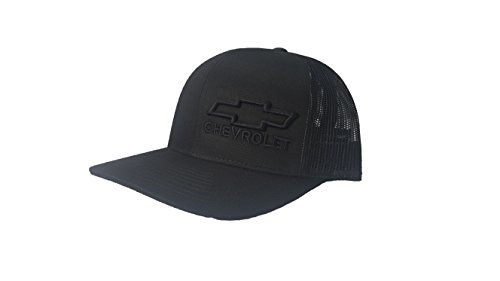 Richardson 3D Puff Chevy Chevrolet Logo Hat Cap Snapback Adjustable Unisex ()