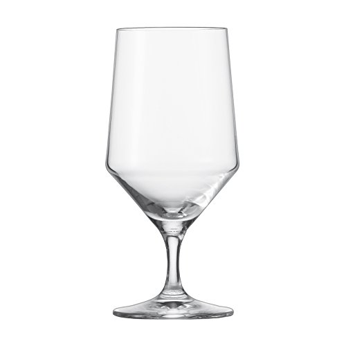 Schott Zwiesel Tritan Crystal Glass Pure Stemware Collection Water/Beverage All Purpose Glass, 15.3-Ounce, Set of ()