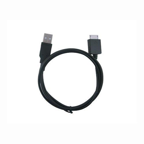 S718 Mp3 (Black 2-In-1 USB Data Hotsync & Charging Cable for Sony Walkman 4GB 8GB Video, S736 S738, Walkman 8GB Video, S638, Walkman 4GB 8GB Video, E436 E438 NWZ-A726 A728 A729 A815 A816 A818 S615 S616 S618 S716 S718 E436 E438 S736 S738 Series MP3 Player)