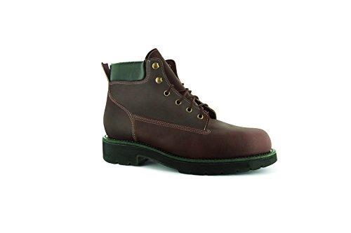 Boot XL Livingston BossSole Leather Boots WW Burgundy 7 Trailblazer Abram 6'' Men's Work qCxd4T