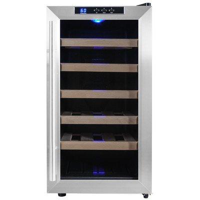 18 Bottle Single Zone Freestanding Wine Refrigerator