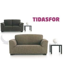textil-home Funda de Sofá Elástica TIDAFORS, 3 plazas ...