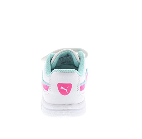 Puma - Zapatillas de gimnasia para niño bianco - 023 WHT-RED