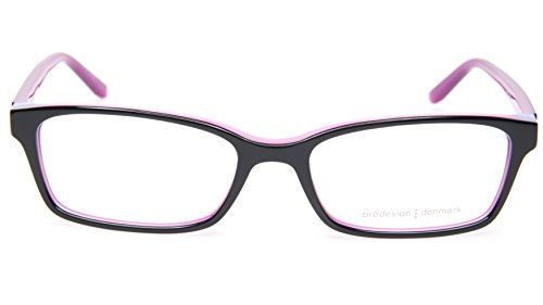NEW PRODESIGN DENMARK 1731 c.6022 BLACK-PINK EYEGLASSES 51-16-135 HH B28mm - Glasses Prodesign