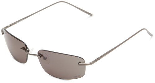 VedaloHD Rapallo 8038 Rimless Sunglasses,Gunmetal,59 - Vedalohd Sunglasses