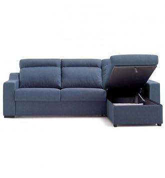 SHIITO Sofá Cama de 140 cm con chaiselongue abatible a la ...