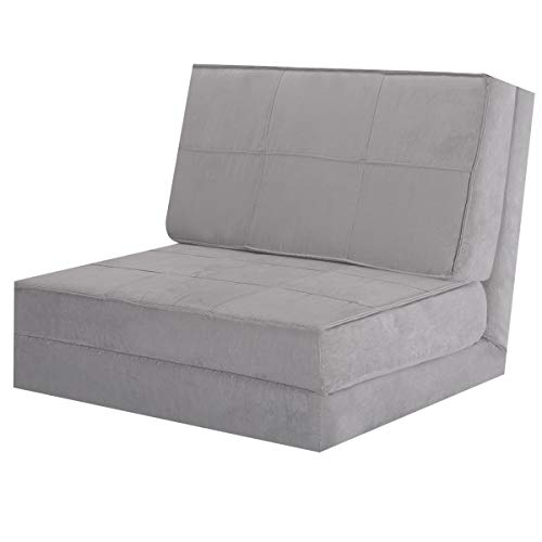 Beau Giantex 5 Position Adjustable Convertible Flip Chair, Sleeper Dorm Game Bed  Couch Lounger Sofa