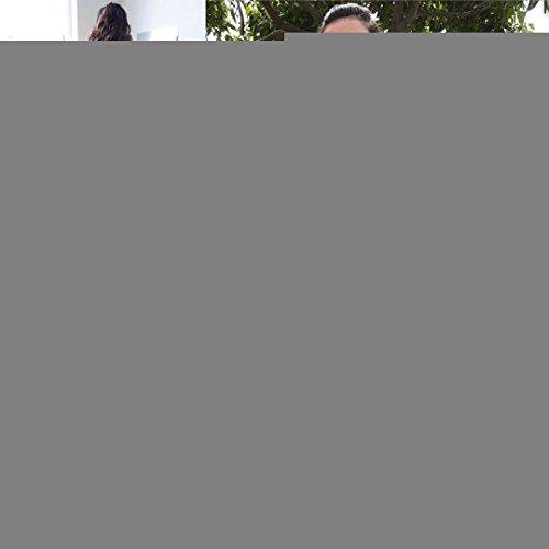 Longue Robes De Bal Du Soir En Mousseline De Soie Col V De Femmes Centre Commercial Brl Fente Plage Licol Robe De Fête De Mariage Bpm25 Bleu Royal