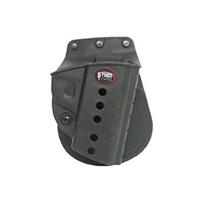 Fobus Evolution E2 Paddle Holster Fits S&W M&P 9mm/40/45 Full Size & Compact, M&P 2.0 9mm/40/45, SDVE9, SDVE40, M&P 22 Compact Left Hand