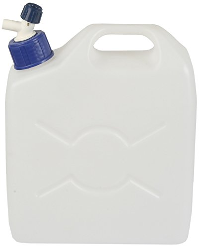 Inpress Plastics 1418C Water Container with Cap and Tap, Transparent, 25 Litre