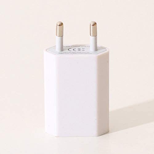USBwandlader Opladeradapter 5V 1A Enkele USBpoort Snellader voor telefoon Wit EU