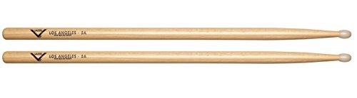 - Vater 5A Nylon Tip Hickory Drum Sticks, Pair