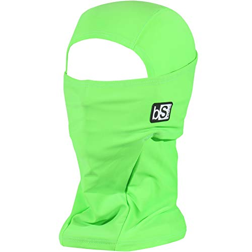 BLACKSTRAP Men's Balaclava Hood, Bright Green, One Size