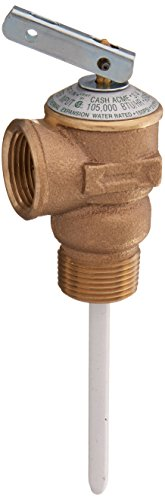 (Cash Acme - Shark Bite 15836A-0150 Temperature & Pressure Relief Valves, 150 PSI, Copper)