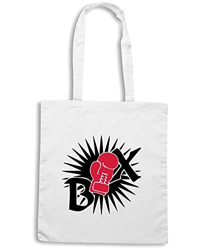 Borsa Speed BOXTAR Bianca TBOXE0011 Shopper Shirt 2C aaqnxvH