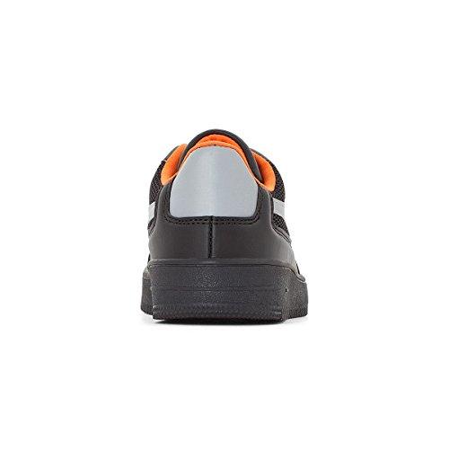 La Redoute Collections Jungen Flache Sneakers Mesh 2639 Gre 33 Schwarz