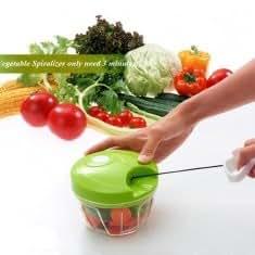 Vegetable Food Chopper Hand Speedy Veggie Meat Chopper Shredder Slicer