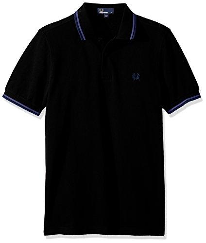 cornflower lupin Tipped Uomo Polo navy Twin Perry Blu Shirt Fred wRzO8qO